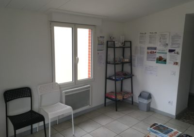 Salle d'attente Cabinet Rabastens Ostéopathe Géraldine Federspiel